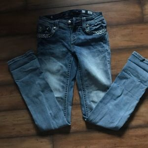 Miss Me Bottoms - size 14 hardly worn miss me jeans